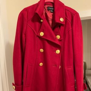 Forever21 Red Trench Coat